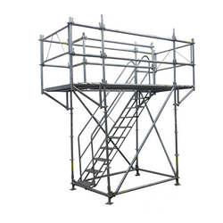 Andaimes metálicos tubular tipo torre