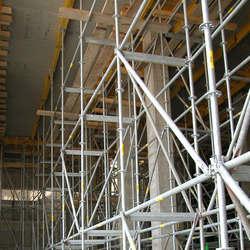 Andaimes tubular para construção civil