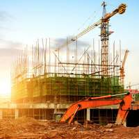 Andaimes para construção civil