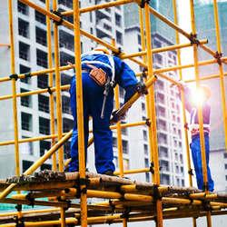 Fabricante de andaime tubular para construção civil
